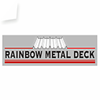 Rainbow Metal Deck